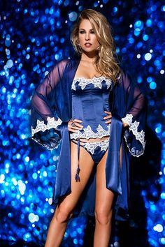 #lingerie #blue #De Chelles
