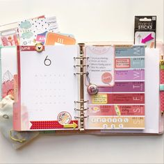 Get organized with these weekly inserts. Add in important school dates and social activities with style!