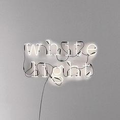 neon bogstaver
