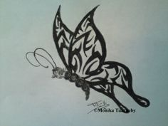 Drawing Butterfly Art, Tribal Tattoos, Drawings, Painting, Blogging, Painting Art, Sketches, Paintings, Drawing