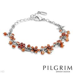 PILGRIM Skanderborg, Denmark Fabric Crystal and Faux Pearl Ladies Bracelet. Total Item weight 12.0 g. PILGRIM Skanderborg, Denmark. $15.51. Save 59% Off!