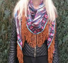 Ibiza scarf colourfull 2