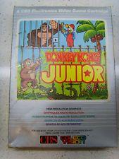 Donkey Kong Junior Cartridge + Box - Coleco Vision CBS Colecovision - Juego PAL in Consolas y Videojuegos, Videojuegos | eBay