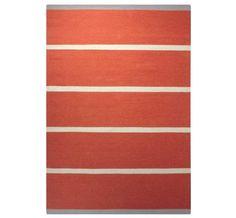 Esprit - Simple Stripe Orange Rugs | Modern Rugs