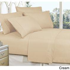 Celine Linen Luxurious, Wrinkle-resistant, Deep-pocket, Bed Sheet Set