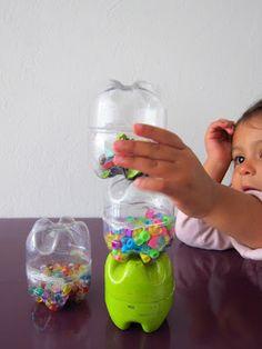 Nuestro Mundo Creativo: Maracas sensoriales!!