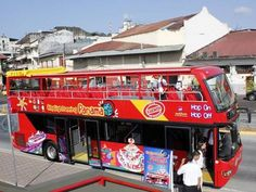 """New """"Hop On, Hop Off"""" Tourists Bus Service in Panama City - Panama Guide"""