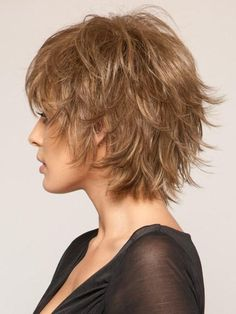 Shag and style with your fingers | Color: 12R  #12R #color #fingers #hairstyle #hairstyles #shag #shorthairstyle #Style
