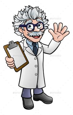 mad scientist cartoon images | Mad Scientist's Lab by ...