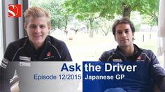We need a for Felipe. Does Marcus know PewDiePie? And which Pirelli compound is Felipe's favourite? This and more: watch our video from the ! Marcus Ericsson, Japanese Grand Prix, Video Team, Keep Fighting, Pewdiepie, F 1, Formula One, Baseball Cards, Watch