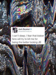 Hahaha one of the many reasons why I love Jack Barakat