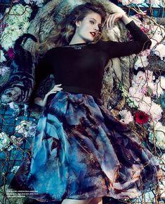 Constance Jablonski por An Le para Bloomingdale Fall 2014 [Editorial]