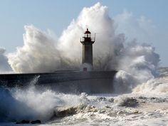 Farol Foz do Porto, Portugal Lighthouse by sergio_vinha, via Flickr