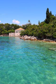 Peaceful day on Kolocep Island in CROATIA
