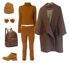 Casual by anastasiya-nazarenko on Polyvore featuring мода, The Gigi, Isabel Marant, Dsquared2, Timberland and Ray-Ban