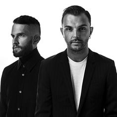 @hurtseurope - These two guys were really friendly and cool at the shooting for @starsofsounds in Murten. #hurts #theohurts #adamhurts #hurtseurope #starsofsounds #murten #murtensee #elinchrom #pentax645z #pentax645zambassador #blackandwhite #famousbtsmag
