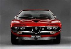 Alfa Romeo Montreal  Some spectacular Alfas never made it beyond the concept stage, but this one did. In production from 1970-77.