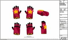 steven universe garnet's gloves - Google Search