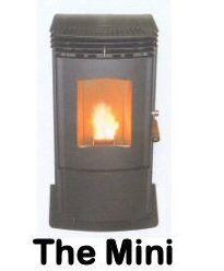 The Mini wood pellet stove by Enviro