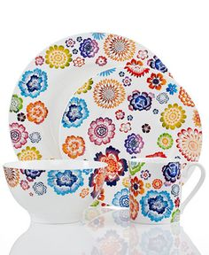 Villeroy & Boch Dinnerware, Anmut Bloom Collection - Fine China - Dining & Entertaining - Macy's