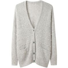Girl by Band of Outsiders Cropped Boxy Cardigan ($340) ❤ liked on Polyvore
