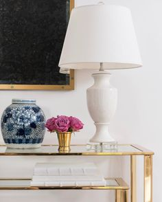 Empire Lamp in White from Caitlin Wilson