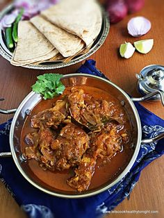 Do pyaza is a Persian word meaning (having) two onions. There are many stories related to the curries which are do pyaza, but there are two reasons why such are recipes are named DO PYAZA . Such dishes are prepared with large quantities of onions, added twice in a single preparation. One at the time … … Continue reading →