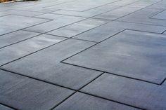 Broom Finish - Gallery - Concrete Evolutions - Leader in Decorative Concrete, Concrete Overlay & Concrete Countertops Patio Driveway Ideas, Patio Steps, Driveway Design, Concrete Overlay, Stamped Concrete, Decorative Concrete, Beton Design, Gravel Patio, Backyard Patio