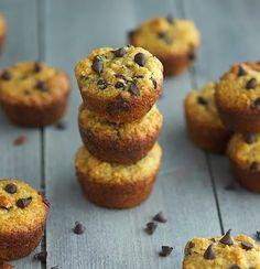 (Paleo) Choc Chip Muffins