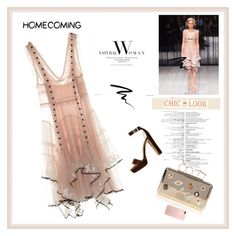 """""""Homecoming Style♥♥♥"""" by marthalux ❤ liked on Polyvore featuring Alexander McQueen, Eyeko, Homecoming and homedesign"""