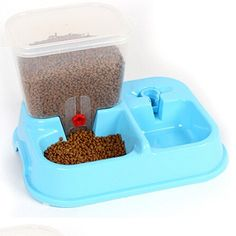 Automatic Plastic Food and water Convenient Feeding Pet Storage Bowl Sale price $53.55 Regular price $63.99