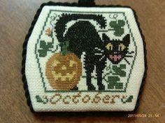 Prairie Schooler Halloween ornament