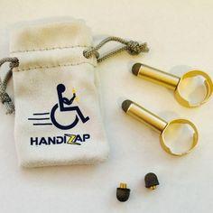 Special Needs Tablet Finger Stylus -adjustable. Made for spastic quadriplegics cerebral palsy.