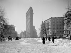 New York in the early 1900s...