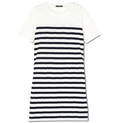 Breton Stripe Dress $129