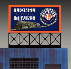 S /& HO Miller Engineering Light Works USA 88-0101 Cracker Jack Billboard O
