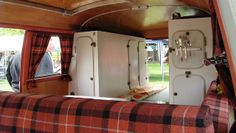 VW Bus interior by Autoscaph, via Flickr