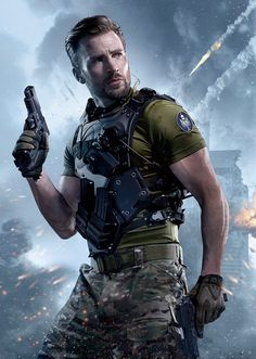 Photo of Chris Evans for Call Of Duty for fans of Chris Evans 41645015 Capitan America Chris Evans, Chris Evans Captain America, Capt America, Age Of Ultron, San Diego Comic Con, Steve Rogers, Keanu Reeves, Dark Kingdom, Apocalypse