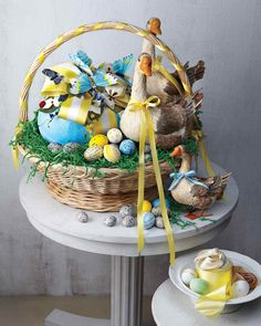 Kevin Sharkey recalls the most memorable Easter baskets he's created for Martha over the years.