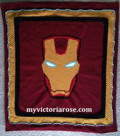 Iron Man is my favorite.  Here is a pattern that anyone can enjoy doing.  Download yours today!