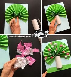 You are in the right place about spring art projects for kids grade Here we offer you the most b Spring Crafts For Kids, Tree Crafts, Easy Crafts For Kids, Craft Activities For Kids, Summer Crafts, Toddler Crafts, Art For Kids, Kindergarten Crafts, Preschool Crafts