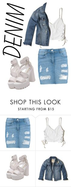 """Untitled #30"" by emaan06 ❤ liked on Polyvore featuring Boohoo and Hollister Co."