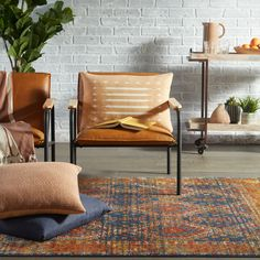 Bold and beautiful. Emulating the saturated colors of vegetable-dyed antique rugs, the innovative Prisma collection combines admired traditional design with durable polypropylene construction. #apartmenttherapy #finditstyleit #howyouhome #persianrug #currentdesignsituation #dsnicerug #jungalowstyle #mycovetedhome #howiboho #bohemianhome #simplystyleyourspace #ihavethisthingwithtextiles #antiquerug Tribal Home Decor, Global Decor, Living Room Decor Inspiration, Colourful Living Room, Eclectic Rugs, Living Room Area Rugs, Traditional Design, Jaipur, Modern Decor