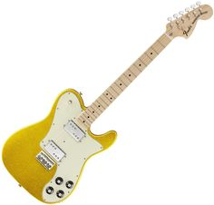 Fender Factory Special Run Classic Series '72 Telecaster Deluxe Electric Guitar (Vegas Gold Finish)