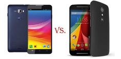 Moto G (2nd Gen) vs Micromax Canvas Nitro