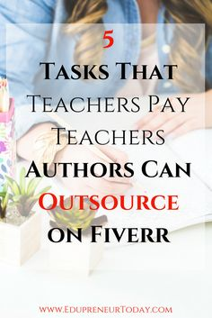 "In this replay I discuss 5 tasks that TpT sellers (or bloggers) can outsourced on Fiverr. Fiver is an online marketplace where consumer can purchase ""gigs"" starting at $5. It is a great platform to test the waters of outsourcing, especially for those who are already considering hiring a VA or other assistant. Check out my suggestions in this video. Tweet me your favorite suggestion and additional ideas @KianaPorterIsom"