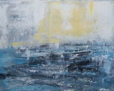 "Saatchi Art Artist Madeleine Wories; Painting, ""On the Sea"" #art"