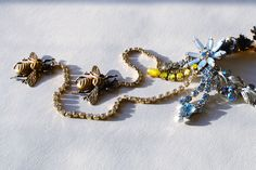 Russian jeweler Pavlenko creates his own design jewelry using antique and vintage parts. SOLD $415