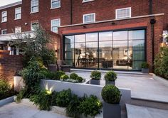 Functional London Apartment Opens to Landscaped Rear Garden