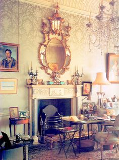 Clarence House - Second Floor Sitting Room decorated for the Queen Mother